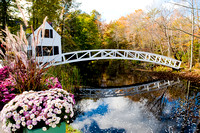 Arched bridge in Sommesville, ME