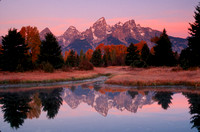 Teton Range at dawn